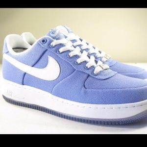 Nike Air Force 1 Purple Frost Canvas